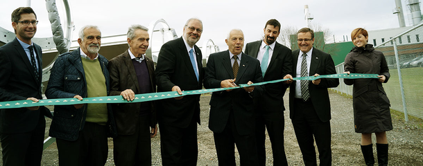 Cascades, the Quebec government and Rackam inaugurate the largest solar thermal park in Quebec in Kingsey Falls